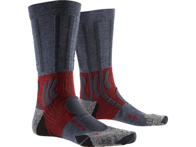 X-Socks Trek Path Chaussettes Homme, midnight blue/dark ruby